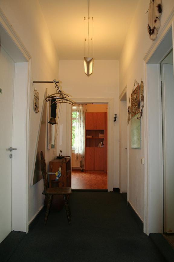 Eingangsbereich Praxis Drechsel