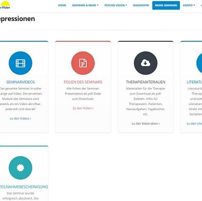 Psychotherapeutische Behandlung der Depression mit aktuellen Kognitiv-verhaltenstherapeutischen Ansätzen