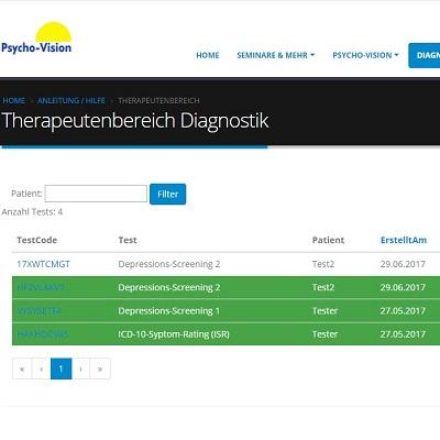 Diagnostik-Zugang