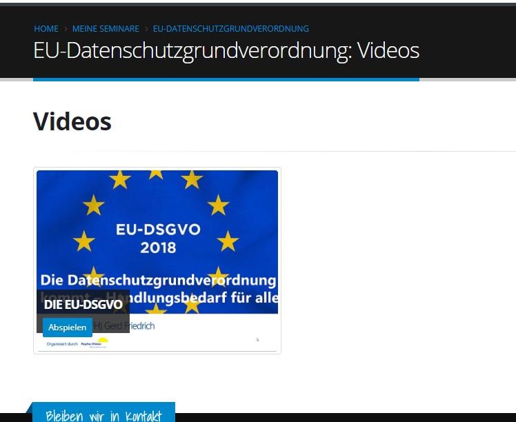 EU-Datenschutz-Grundverordnung - Handlungsbedarf für alle