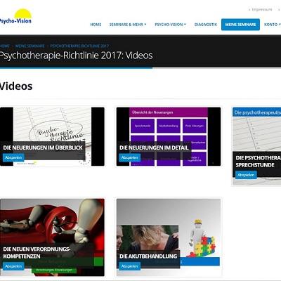 Psychotherapie-Richtlinie 2017